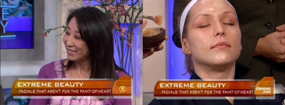 Shizuka Bernstein discusses and demonstrates her extreme Geisha Facial®.