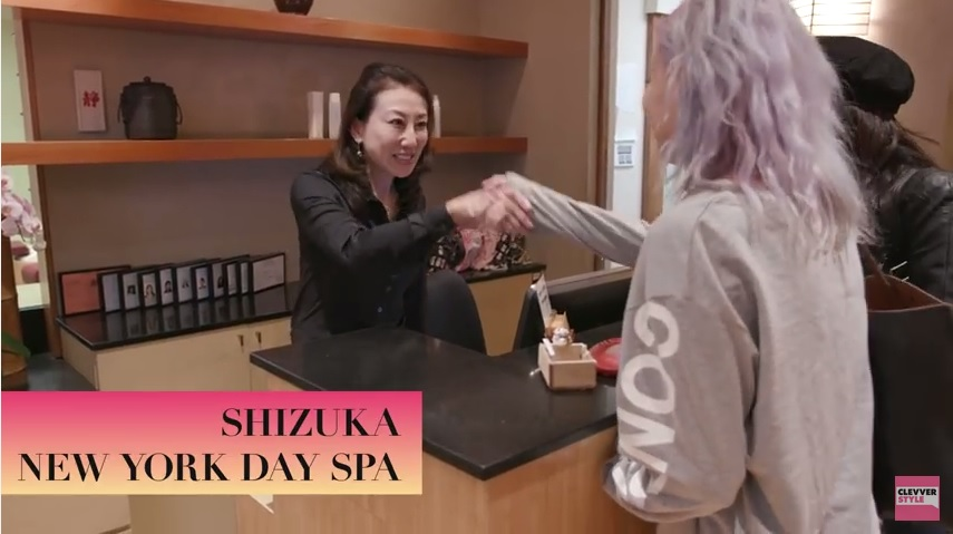 Clevver style Beauty Trippin' SHIZUKA new york